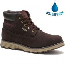 Caterpillar Mens Cat Founder WP TX Waterproof Ankle Boot - Coffee Bean