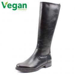 Heavenly Feet Womens Raquel Tall Boots - Black