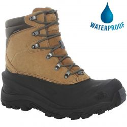 North Face Mens Chilkat IV Waterproof Walking Boots - Utility Brown New Taupe Green
