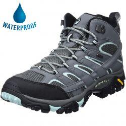 Merrell Womens Moab 2 Mid GTX Waterproof Walking Boots - Sedona Sage