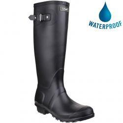Cotswold Womens Sandringham Original Tall Wellington Boots - Black