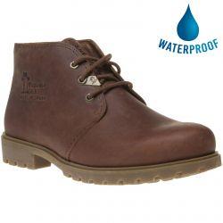 Panama Jack Mens Bota Panama C10 Waterproof Leather Chukka Boots - Cuero Bark