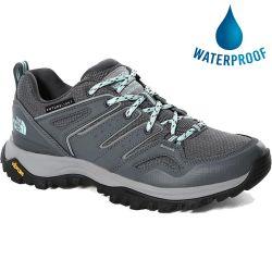 North Face Womens Hedgehog Futurelight Waterproof Walking Trainers - Zinc Grey Griffin Grey