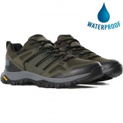 North Face Mens Hedgehog Futurelight Waterproof Walking Trainers - New Taupe Green TNF Black