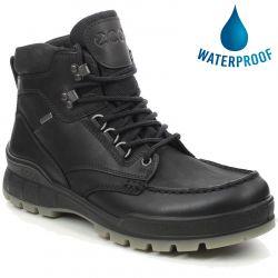 Ecco Shoes Track 25 GTX Waterproof Walking Boot - Black Black