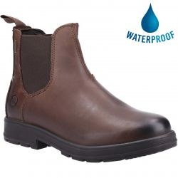 Cotswold Mens Farmington Waterproof Chelsea Boot - Brown