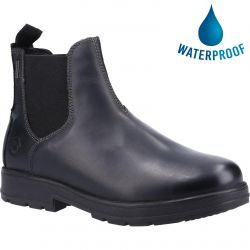 Cotswold Mens Farmington Waterproof Chelsea Boot - Black