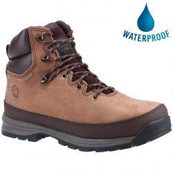 Cotswold Mens Sudgrove Waterproof Walking Boots - Brown
