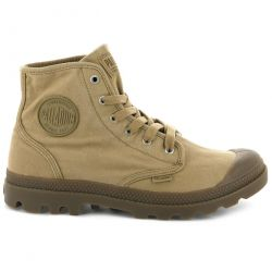 Palladium Mens Pampa Hi Canvas Combat Ankle Boots - Woodlin