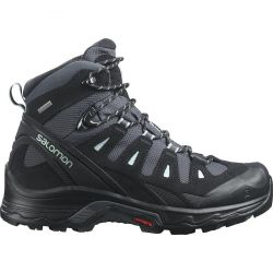Salomon Womens Quest Prime GTX Waterproof Walking Boots - Ebony Black Icy