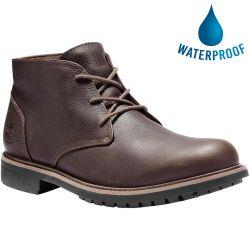 Timberland Mens A2ETJ Stormbucks Waterproof Boots - Dark Brown