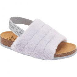 Scholl Womens Amabel Slipper Sandals - Grey