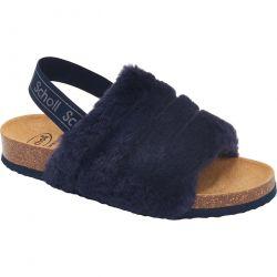 Scholl Womens Amabel Slipper Sandals - Navy