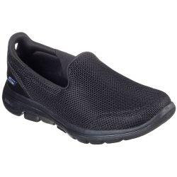 Skechers Womens Go Walk 5 Trainers - Black Black