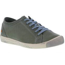 Softinos Womens Isla Trainers - Washed Diesel