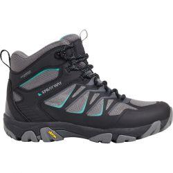 Sprayway Womens Fara Mid Waterproof Walking Boots - Black