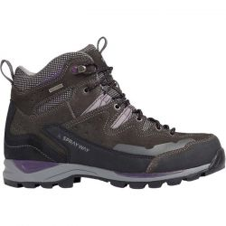 Sprayway Womens Oxna Mid Waterproof Walking Hiking Boots - Charcoal Purple