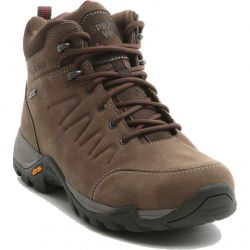 Sprayway Womens Girona Mid Waterproof Leather Ankle Boots - Brown