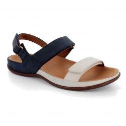 Strive Womens Kona Orthotic Sandals - Navy Marshmallow