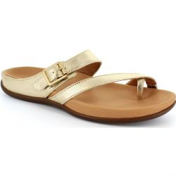 Strive Womens Nusa Sandals - Gold Metallic