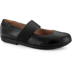 Strive Womens Rome Shoes - Black Leather
