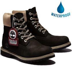 Timberland Womens 6 Inch Premium Waterproof Boots - Black - A2MCC