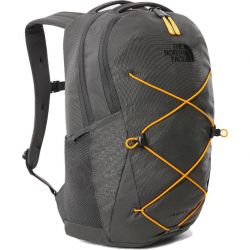 The North Face Jester Rucksack Bag - Asphalt Grey Knockout Orange