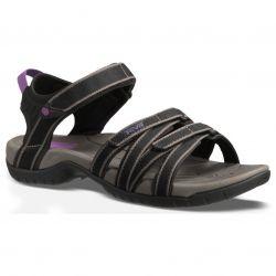 Teva Womens Tirra Adjustable Walking Sandals - Black Grey