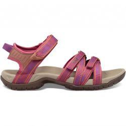 Teva Womens Tirra Adjustable Walking Sandals - Halcon Gloxinia