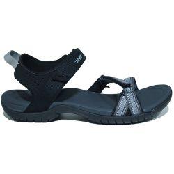 Teva Womens Verra Adjustable Walking Sandals - Antiguous Black Multi