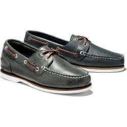 Timberland Womens Amherst Boat Shoes - Navy - 72332