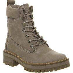 Timberland Womens Courmayeur Valley Ankle Boots - Taupe - A1RQX