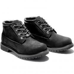 Timebrland Womens Nellie Waterproof Chukka Boots - Black - 23398