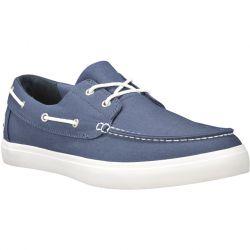 Timberland Mens Union Wharf 2 Eye Boat Oxford Shoes - Dark Blue - A1WEU