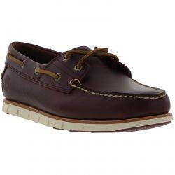 Timberland Mens Tidelands Boat Deck Shoes - Redwood Brown - A1BHM