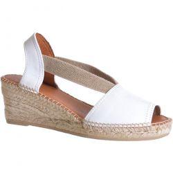 Toni Pons Womens Teide P Wedge Espadrille Sandals - Blanc White