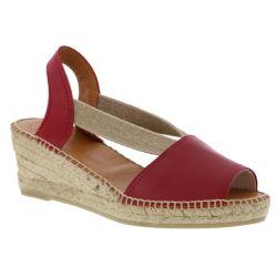 Toni Pons Womens Teide P Wedge Espadrille Sandals - Vermell