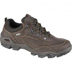Imac Mens Path Waterproof Leather Walking Shoes - Brown