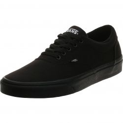 Vans Womens Doheny Classic Canvas Trainers - Black Black