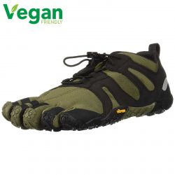Vibram Five Fingers Mens V-Trail 2.0 Vegan Shoes - Ivy Black