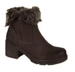 Cipriata Womens Gabriella Winter Ankle Boots - Brown