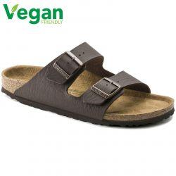 Birkenstock Mens Arizona Vegan Sandals - Brown