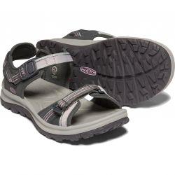 Keen Womens Terradora II Open Toe Walking Sandals - Dark Grey Dawn Pink