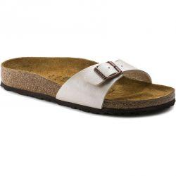 Birkenstock Womens Madrid Sandals - Graceful Pearl White