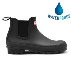 Hunter Mens Original Cheslea Short Wellies Ankle Rain Boots