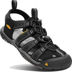 Keen Mens Clearwater CNX Sandals - Black Gargoyle