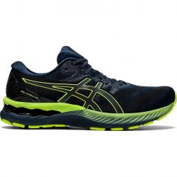 Asics Mens Gel Nimbus 23 Lite Show Running Shoes - French Blue Lite Show