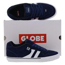 Globe Mens Encore 2 Skate Shoes - Ensign Blue White