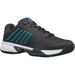K-Swiss Mens Hypercourt Express 2 HB Tennis Shoes - Dark Shadow Scuba Blue White