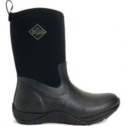 Muck Boots Womens Arctic Weekend Neoprene Short Wellies - Black Black